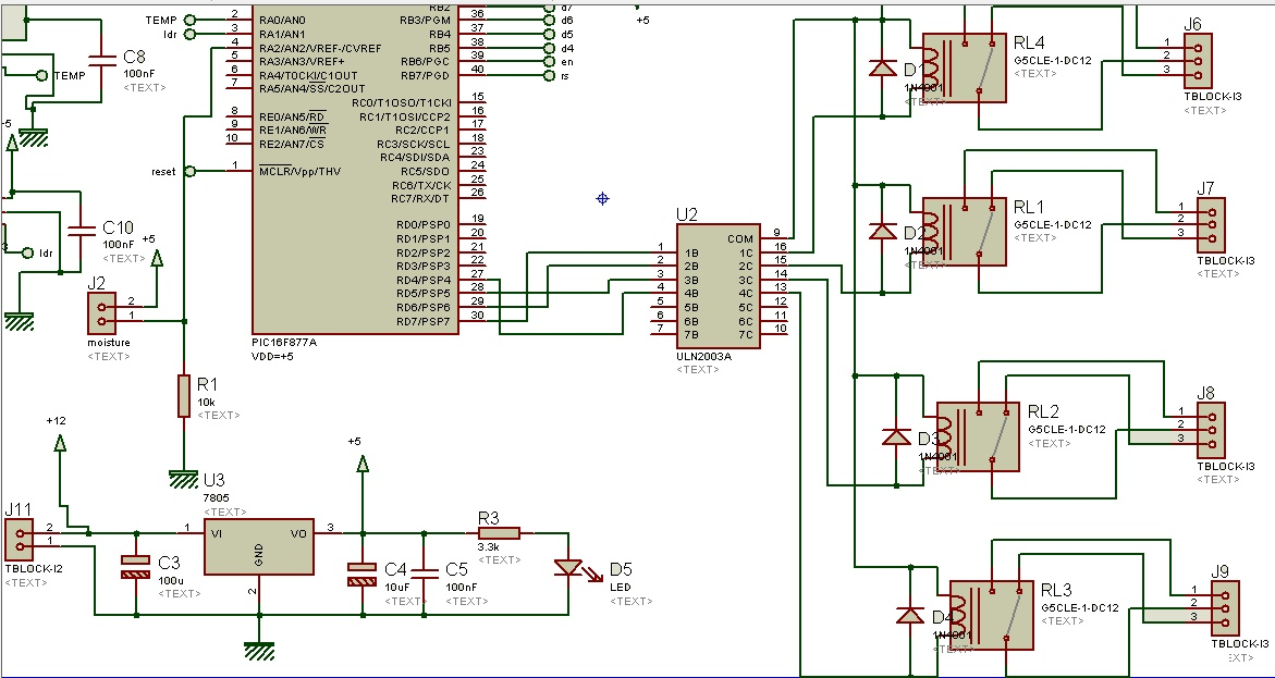 Relay driver circuit using uln2003 and its applications relay driver circuit using uln2003 ccuart Images