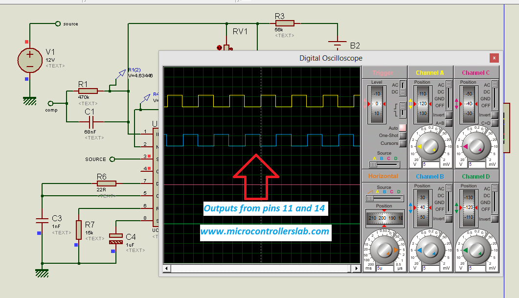 Dc Ac Inverter Circuit Controller Ic Dc Free Engine