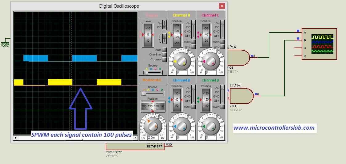 sine wave inverter circuit digram with code rh microcontrollerslab com