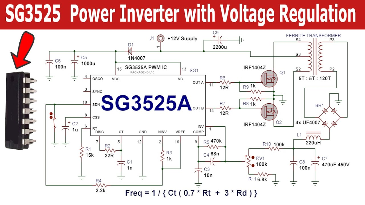 sg3525 based power inverter