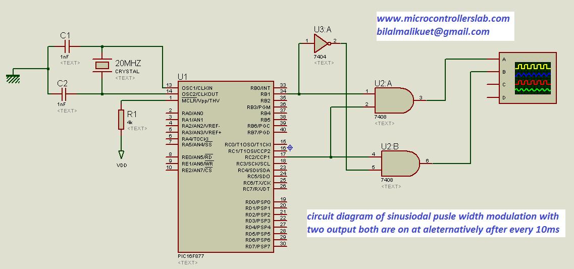 spwm circuit diagram