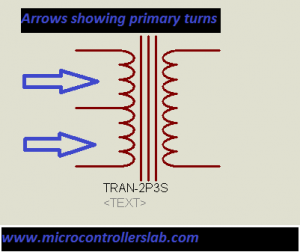 High frequency push pull transformer