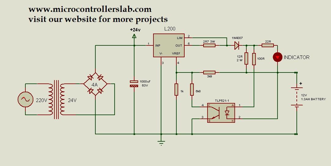 12 volt 1.3AH Battery charger