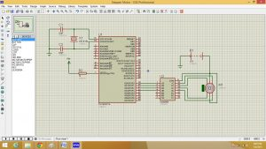 Stepper Motor interfacing with PC16F877A microcontroller