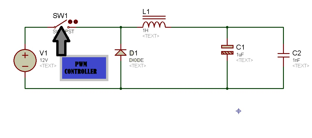 buck converter circuit diagram
