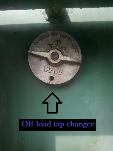 Off load tap changer