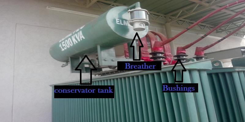conservator tank