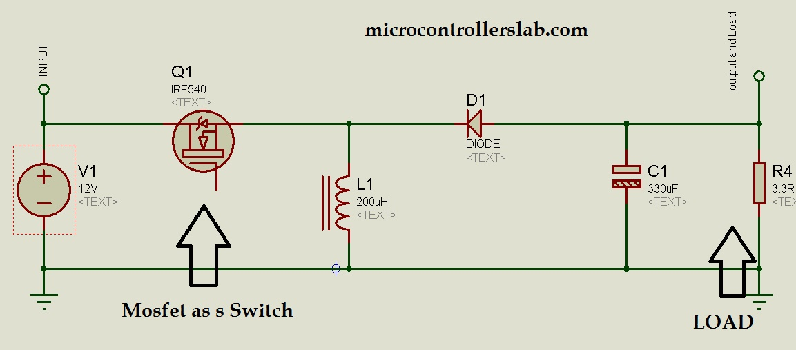 Buck boost converter uses