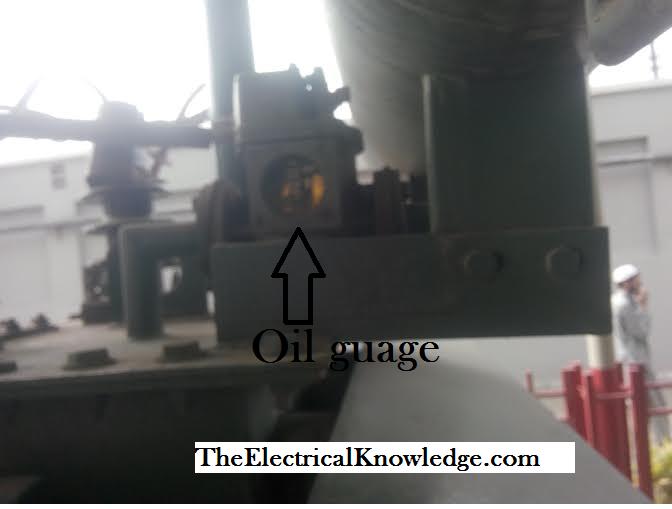 oil guage of transformer