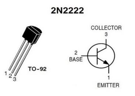 2N222 pin configuation
