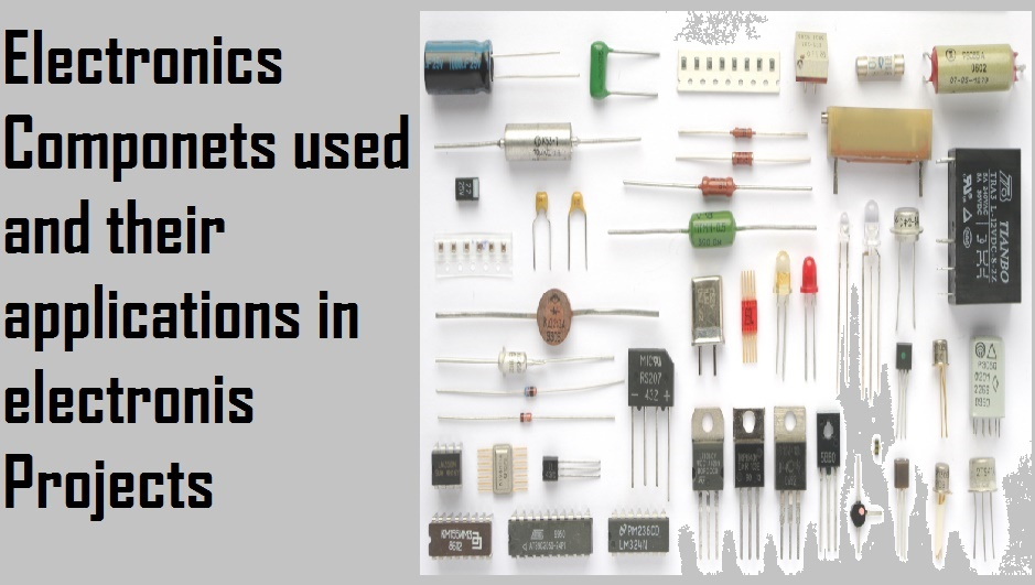 Electronics components and what they do