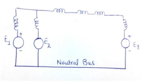reactance diagram of power system
