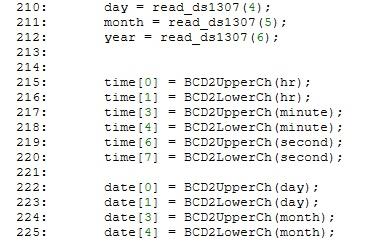 digital clock part 8
