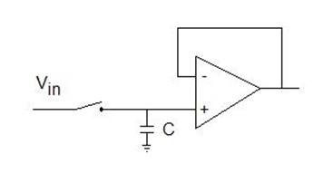Sampling and holding circuit