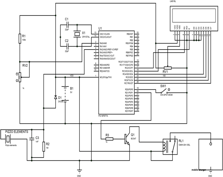 foot step power generation system using pic microcontroller rh microcontrollerslab com