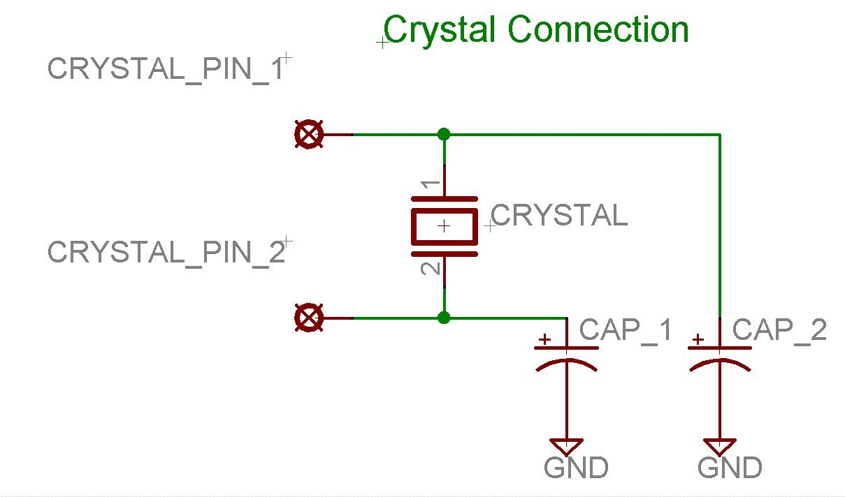 crystal interfacing with PIC16F877A
