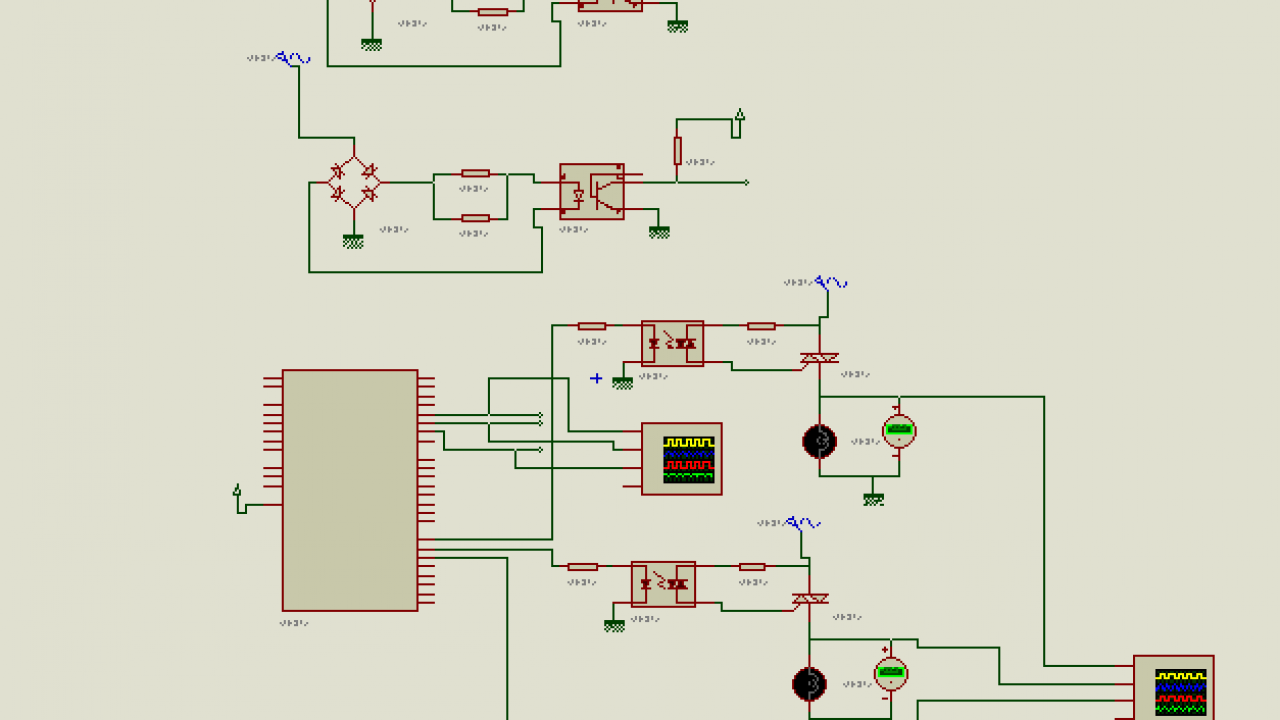 Three Phase Motor Starter Wiring Diagram from microcontrollerslab.com
