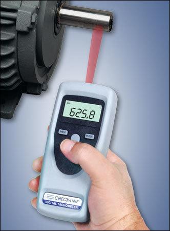 A digital tachometer