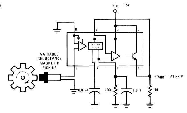 frequency to voltage converter circuit diagram  microcontrollers lab