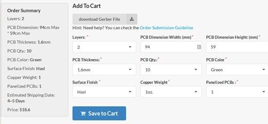 save PCB