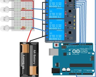 relay module interfacing with arduino
