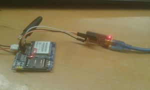 receive sms using gsm moduel and microcontroller