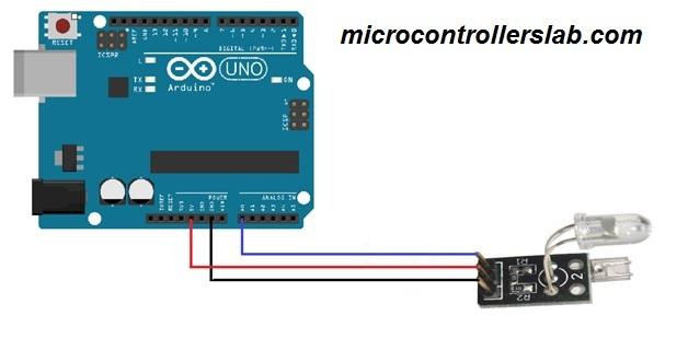heartbeat sensor interfacing with arduino