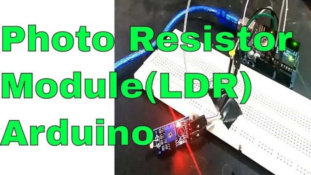 photo resistor module interfacing with Arduino