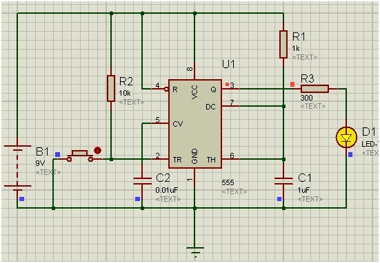 555 Timer Circuit Diagrams