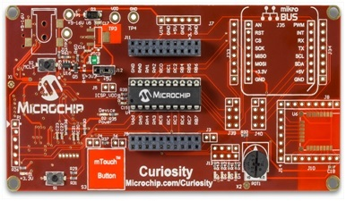 Curiosity pic microcontroller Development board