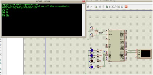 UART-communication-with-8051-microcontroller  Schematic on