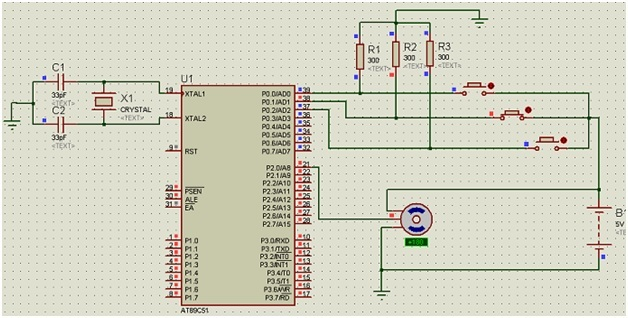servo motor interfacing with 8051 microcontroller