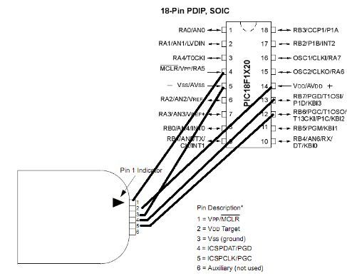 pickit 3 circuit diagram how to use pickit3 to upload program to pic microcontroller  upload program to pic microcontroller