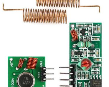RF Transmitter and Receiver Module Interfacing with Arduino
