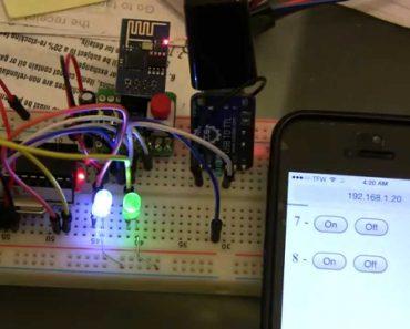 ESP8266 wifi module based projects