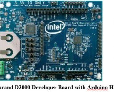 Intel Quark microcontroller D2000 developemnt board