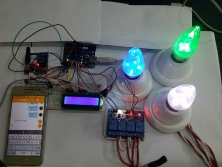 GSM based home automation system using arduino