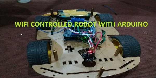 wifi controlled robot using arduino