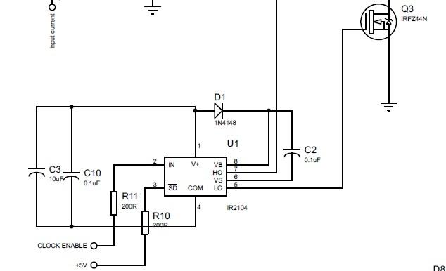 MOSFET driver MPPT