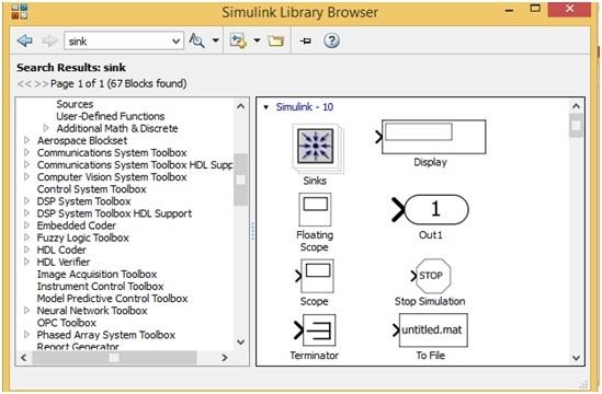 Single Phase Voltage Source Inverter display blocks