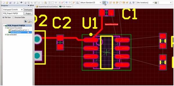 Altium pcb designing step 4b