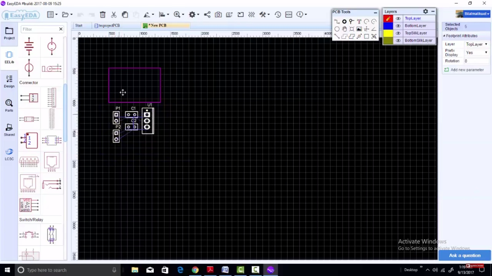 Easyeda New Desktop Software For Pcb And Schematic Design Circuits Electronics Circuit Free Download