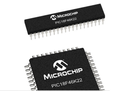 PIC18F46K22 microcontroller