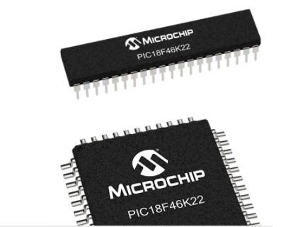 PIC18F46K22 microcontroller