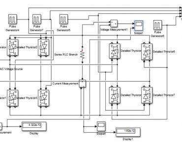 Single Phase to Single Phase Cycloconverter Design Using Simulink