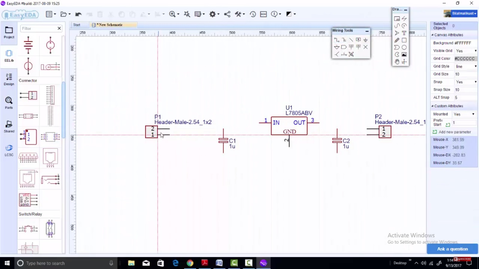 Easyeda New Desktop Software For Pcb And Schematic Design Proteus Circuit Simulation Free Components Placement 2