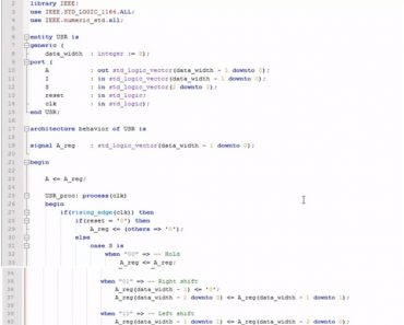 VHDL programming structural coding