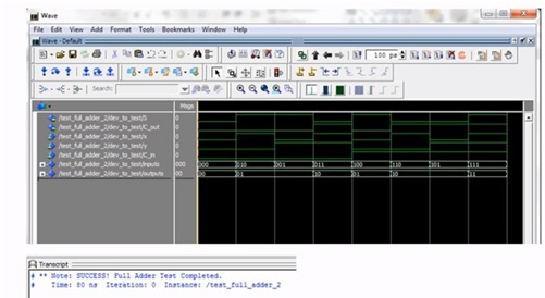 full adder code and implementation with basys 3 fpga board 1
