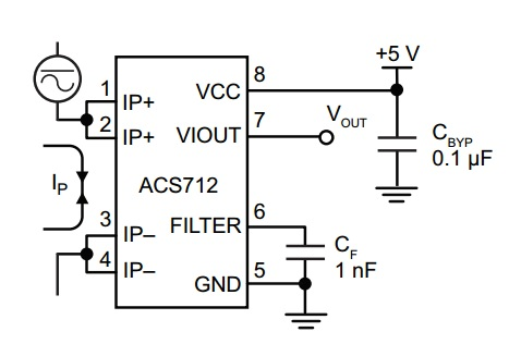 Ops Wiring Diagrams additionally High Limit Switch Wiring Diagram besides 3 Phase Brushless Dc Motor Wiring Diagram additionally Arduino Parts And Sensors also Acs712 Current Sensor Interfacing Arduino. on hall sensor schematic