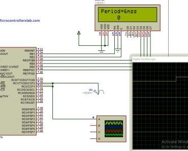 pulse width measurement using pic microcontroller
